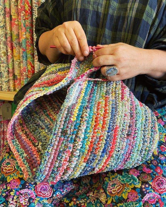 Betsy Crochet Bag large
