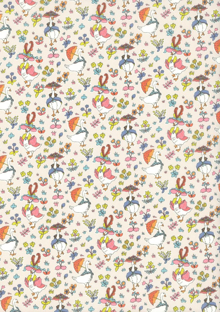 Goosey Gladrags C - Liberty Tana Lawn CC17 - The Little Land of Rhymes - Liberty of London