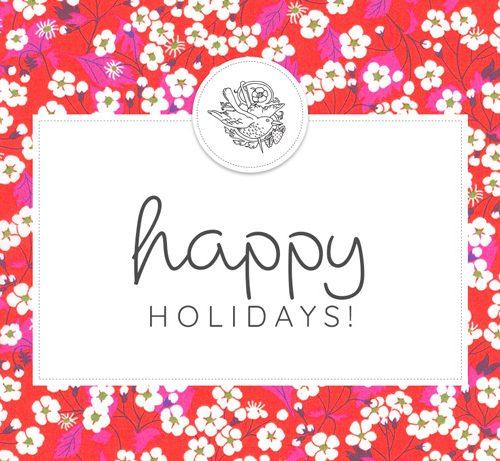 Happy Holidays Gift Voucher