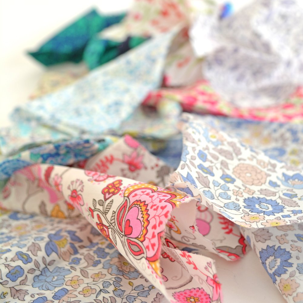Liberty Tana Lawn Scrap bundle - Liberty of London