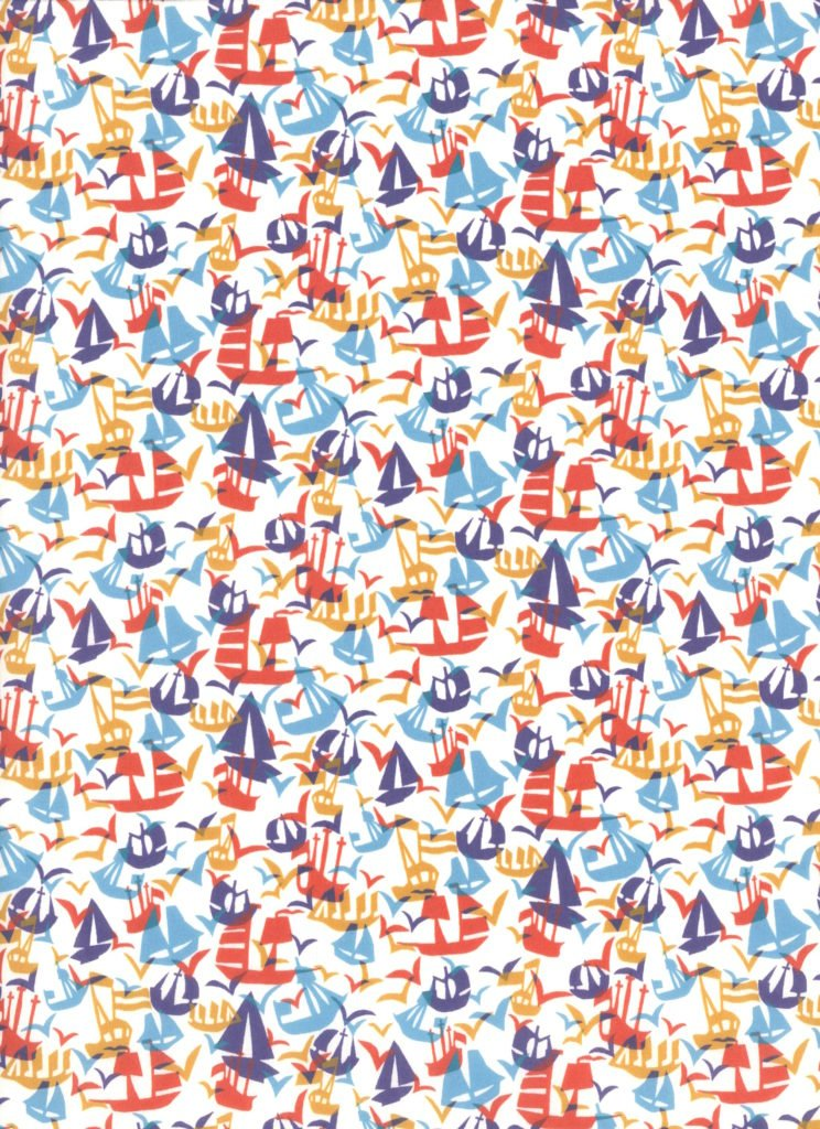 Set Sail C - Liberty Tana Lawn SS19 - English Eccentrics - Liberty of London