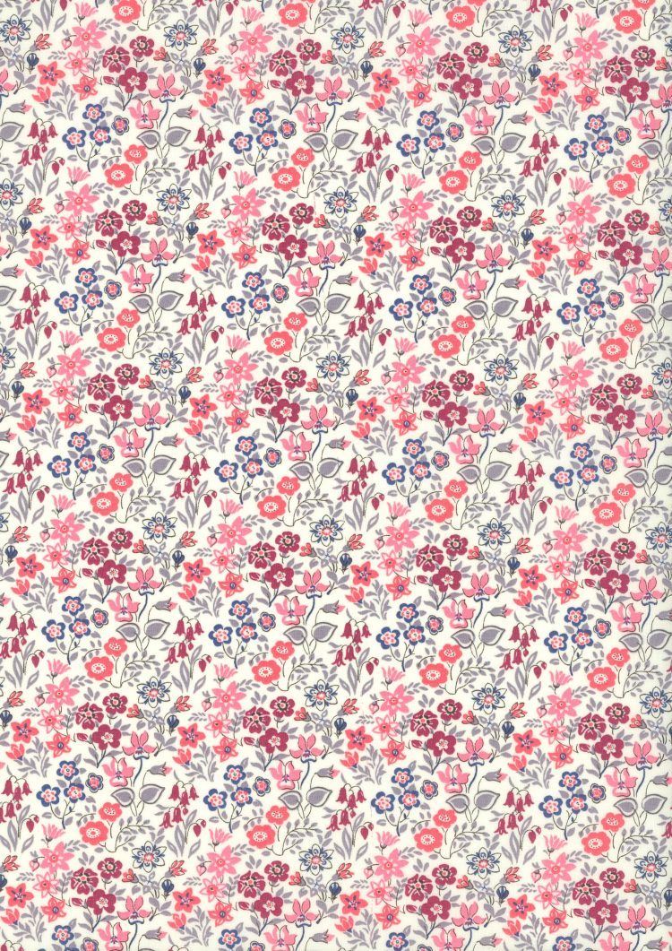 Silver Bells - Liberty Tana Lawn CC17 - The Little Land of Rhymes - Liberty of London