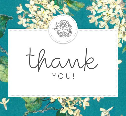 Thank you Gift Voucher