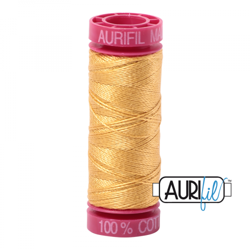 Aurifil Thread 12wt – 2134 Spun Gold