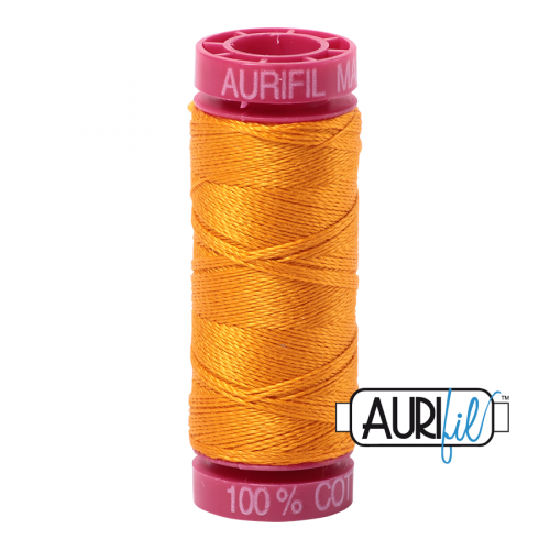 Aurifil Thread 12wt – 2145 Yellow Orange