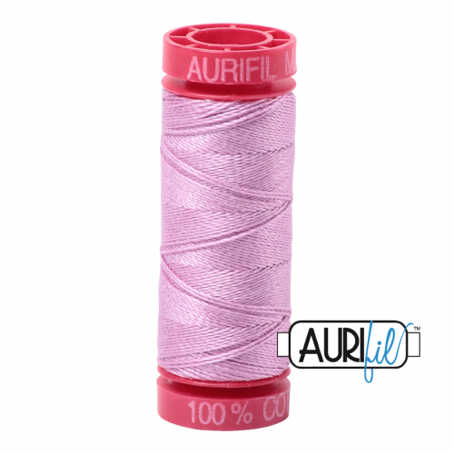 Aurifil Thread 12wt – 2515 Light Orchid