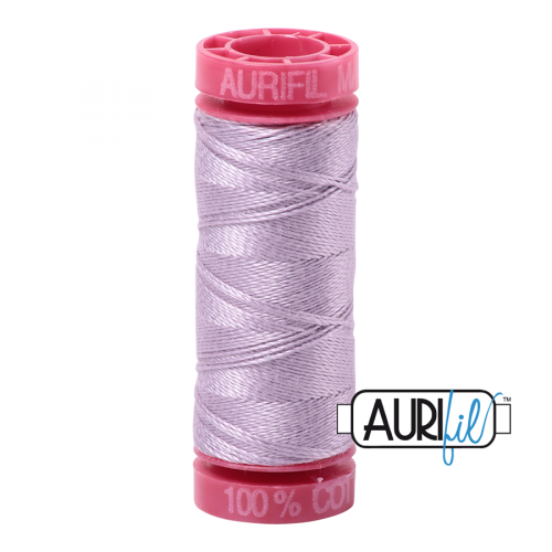 Aurifil Thread 12wt – 2562 Lilac