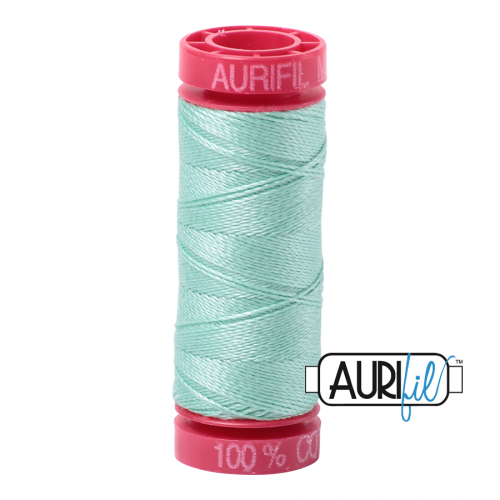 Aurifil Thread 12wt – 2835 Medium Mint