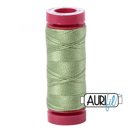 Aurifil Thread 12wt – 2882 Light Green