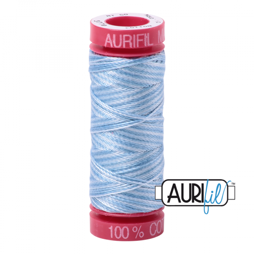 Aurifil Thread 12wt – 3770 Stone Washed Denim