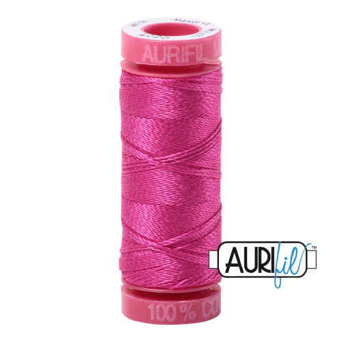 Aurifil Thread 12wt – 4020 Fuchsia