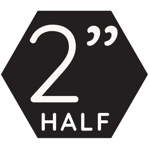 """2"""" Half Top-up"""