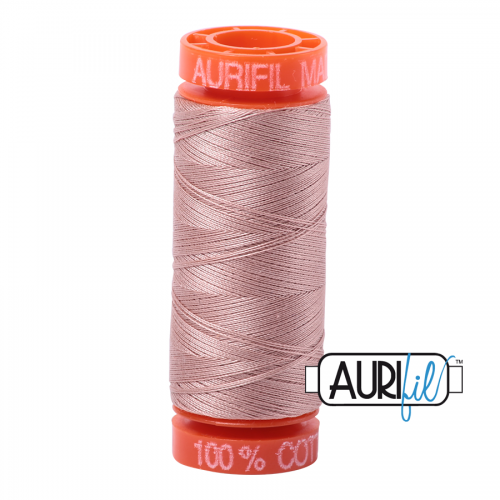 Aurifil Thread 50wt – 2375 Light Antique Blush  (Available in 2 sizes)