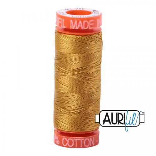 Aurifil Thread 50wt – 5022 Mustard