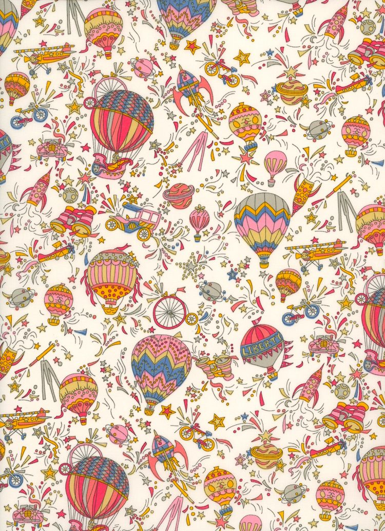 Sky High A - Liberty Fabrics Tana Lawn - The Strawberry Thief Bespoke Collection