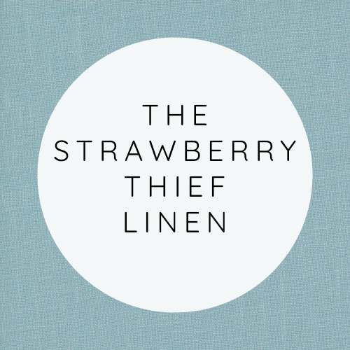 The Strawberry Thief Linen