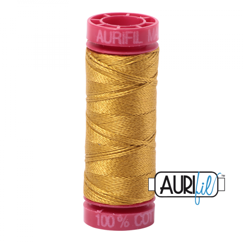 Aurifil Thread 12wt – 5022 Mustard