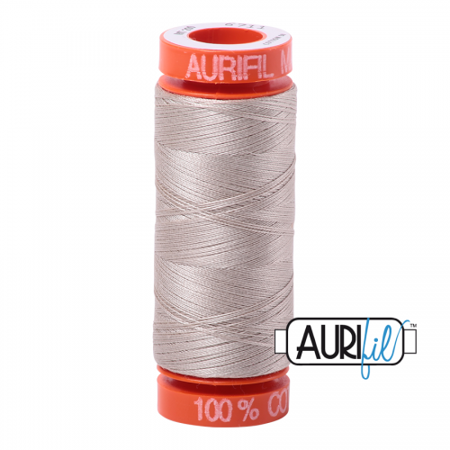 Aurifil Thread 50wt – 6711 Pewter