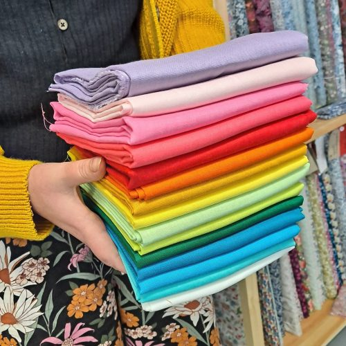 Linen Bundle – Bold Rainbow