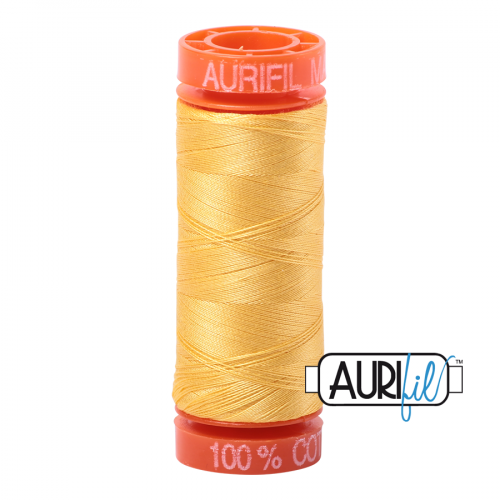 Aurifil Thread 50wt – 1135 Pale Yellow