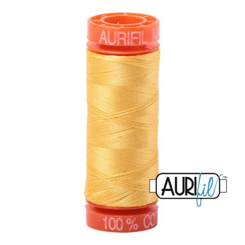 Aurifil Thread 50wt – 1135 Pale Yellow