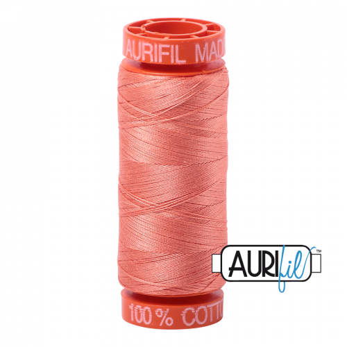 Aurifil Thread 50wt – 2220 Light Salmon