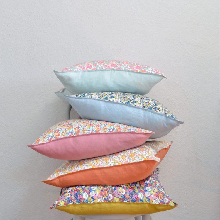 Liberty + Linen Cushion Cover Kits