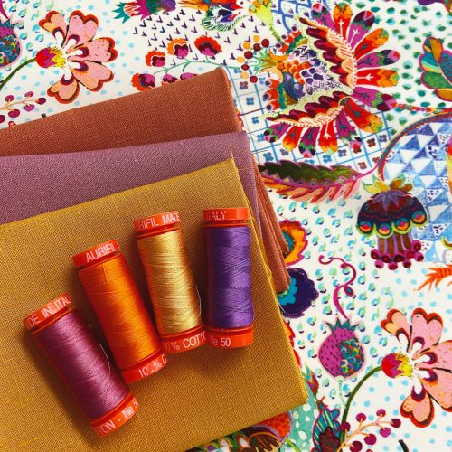 Aurifil Thread Bundle – January
