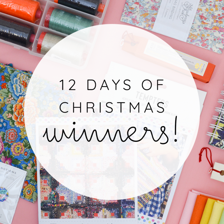 12 Days of Christmas Winners!