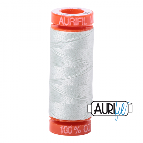 Aurifil Thread 50wt – 2800 Mint Ice