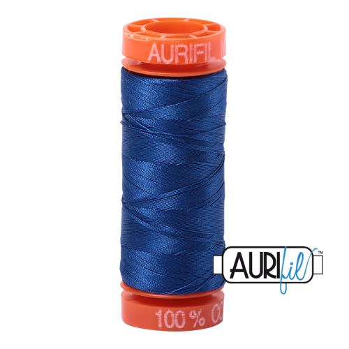 Aurifil Thread 50wt – 2740 Dark Cobalt