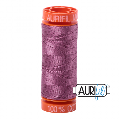Aurifil Thread 50wt – 5003 Wine