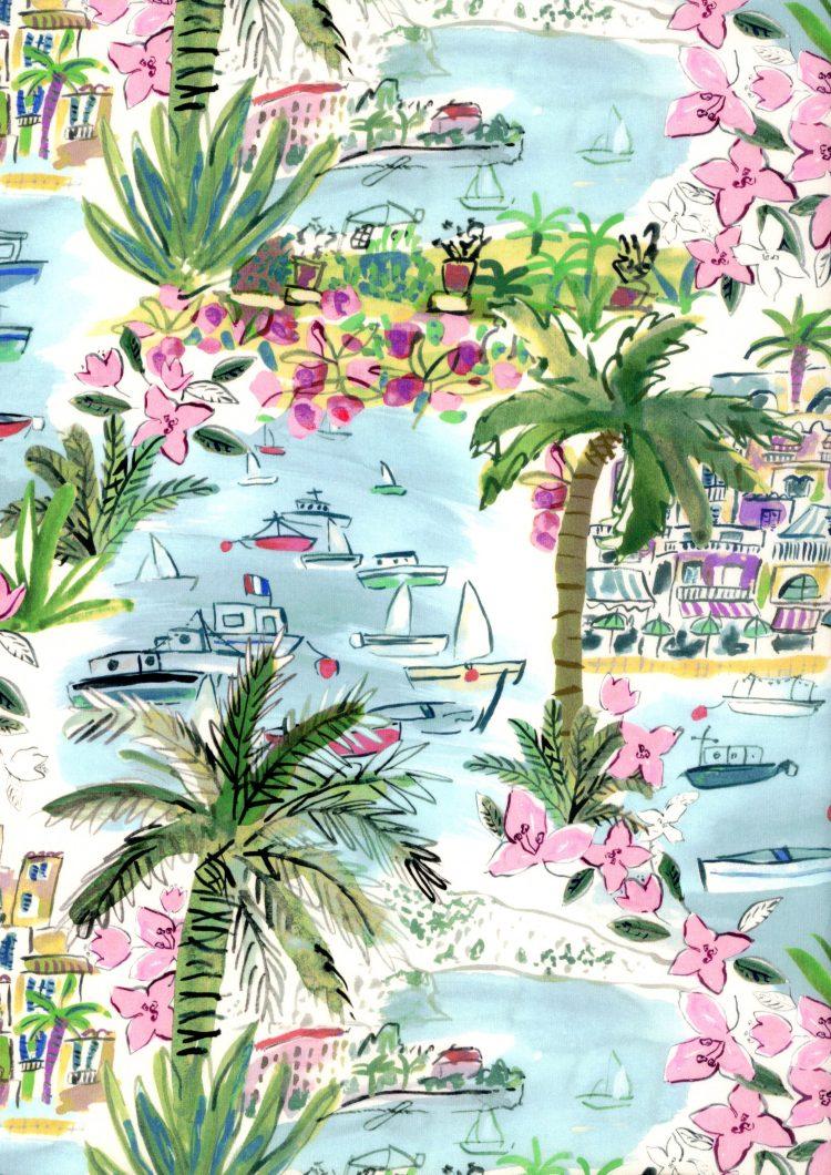 Cape Vista B - Liberty Tana Lawn - SS21 Atlas of Dreams Collection