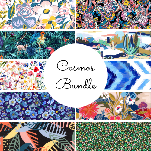 Cosmos Bundle - SS21 Atlas of Dreams Collection - Liberty Fabrics Tana Lawn