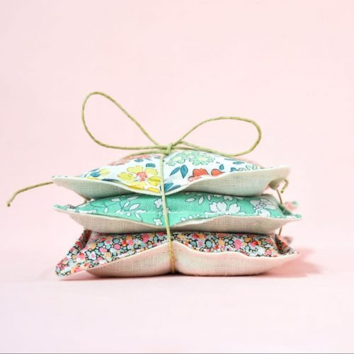 Liberty + Linen Lavender Bag Tutorial