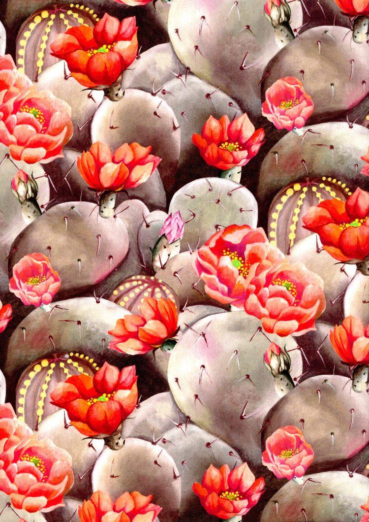 Desert Rose A - Liberty Tana Lawn - SS21 Atlas of Dreams Collection