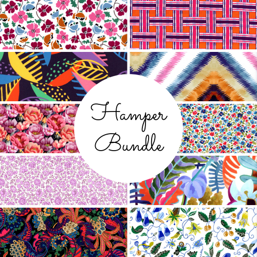Hamper Bundle - SS21 Atlas of Dreams Collection - Liberty Fabrics Tana Lawn