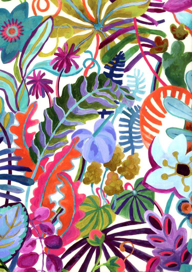 Jungle Trip A - Liberty Tana Lawn - SS21 Atlas of Dreams Collection