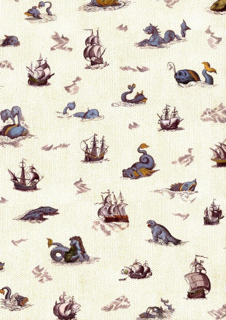 Sea Myths B - Liberty Tana Lawn - SS21 Atlas of Dreams Collection