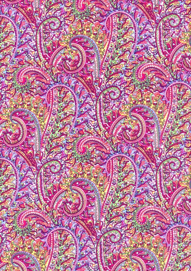 Tropical Prince C - Liberty Tana Lawn - SS21 Atlas of Dreams Collection