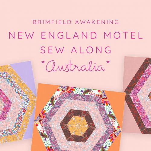 New England Motel Sew Along Australia