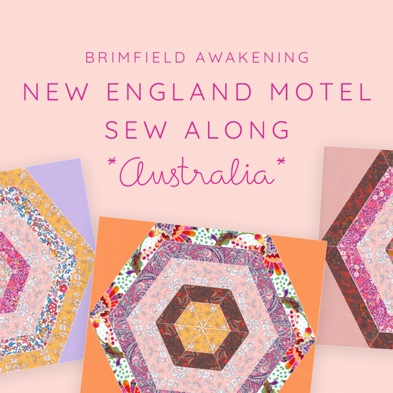 Read more about the article New England Motel Sew Along Australia