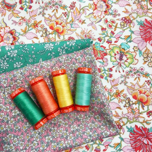 Aurifil Thread Bundle – February