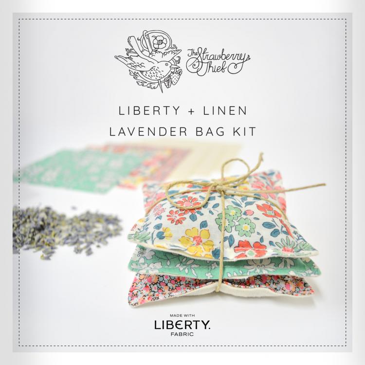 Lavender bag kit booklet