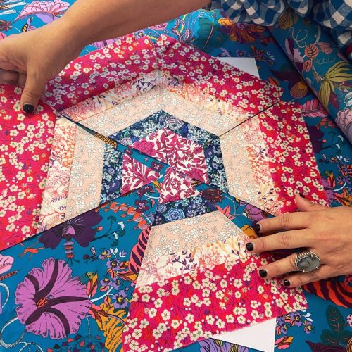 Cutting Guides for the New England Motel Sew Along