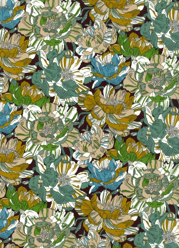 Blackburn B - AW21 The New Collectables Collection - Liberty Fabrics Tana Lawn