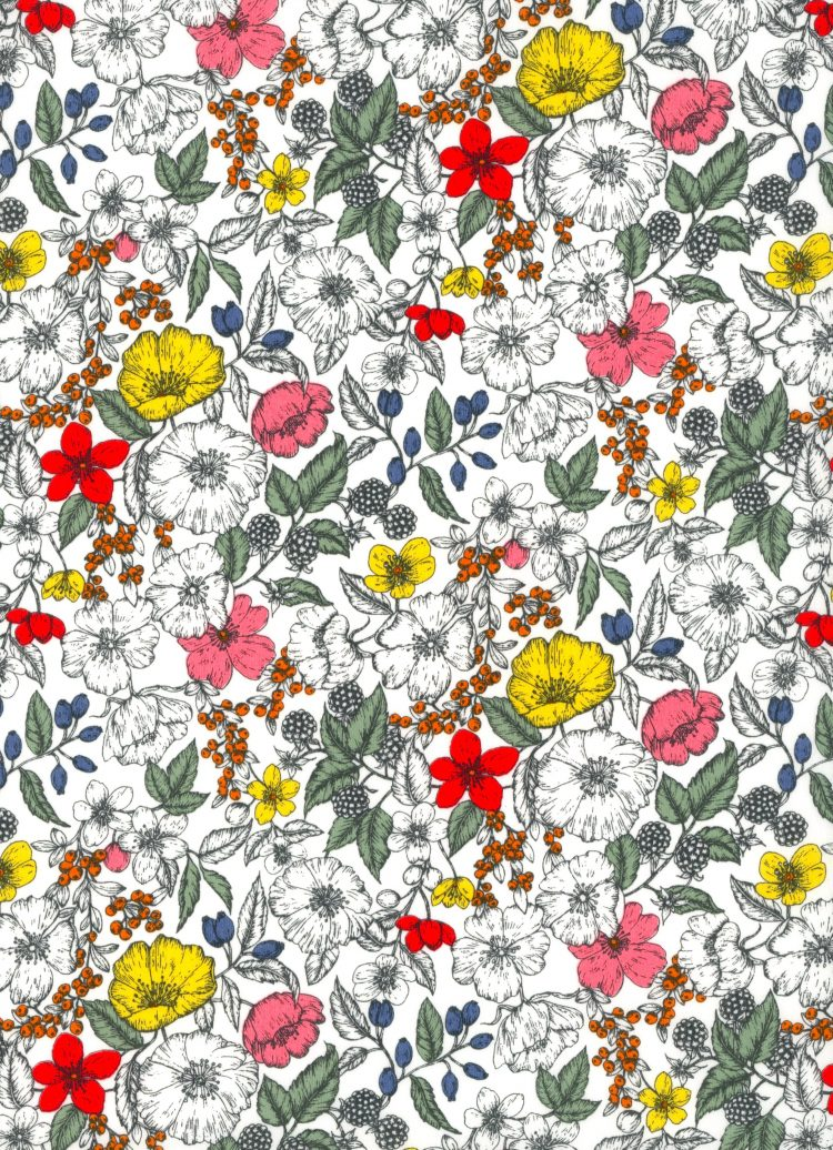 Bramble A - AW21 The New Collectables Collection - Liberty Fabrics Tana Lawn
