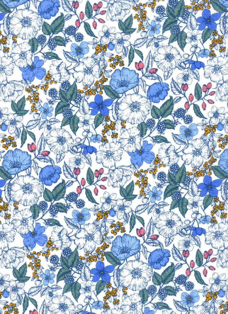 Bramble B - AW21 The New Collectables Collection - Liberty Fabrics Tana Lawn