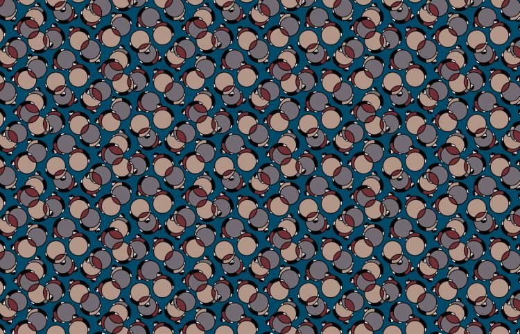 Bouncing Ball A - From Japan With Love Collection - Liberty Fabrics Tana Lawn