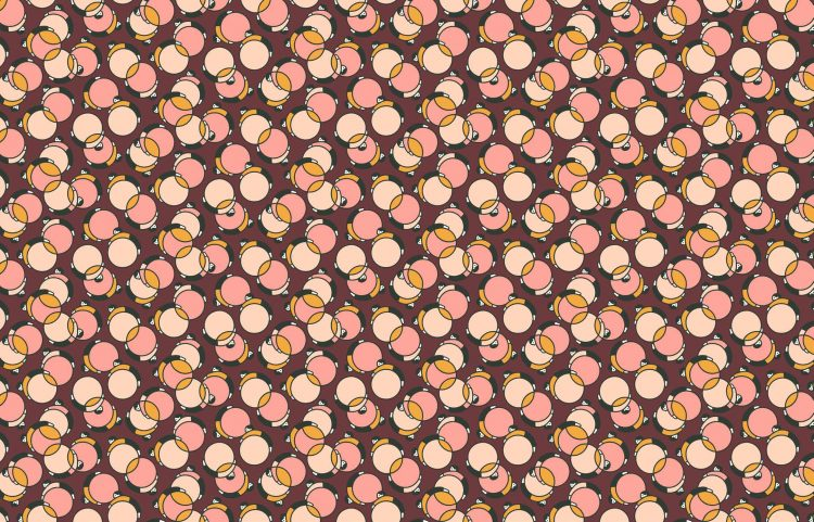 Bouncing Ball B - From Japan With Love Collection - Liberty Fabrics Tana Lawn